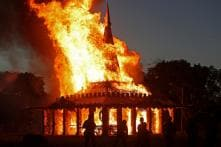 Temple Built in Memory of Florida Shooting Victims Burnt Down in Gesture of 'Healing'