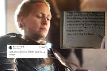 Brienne 'Journaling' Jamie's Story in 'Game of Thrones' Has Turned into a Hilarious Meme
