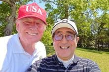Trade Beef Aside, Donald Trump and Shinzo Abe Bond Over Burgers, Sumo and Golf