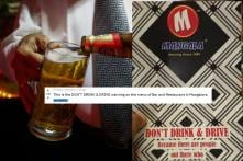 This Indian Bar's Hilarious 'Don't Drink and Drive' Warning is Driving Reddit Nuts