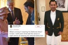 Indian Fans Defend Pakistan Captain Who Was Trolled for Wearing Traditional Outfit During Royal Meet