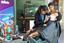 Sachin Tendulkar Gets a Shave From the 'Barbershop Girls' in Viral Gillette Ad