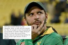 Afridi Faces Backlash for Saying His Daughters are Forbidden from Playing Outdoor Sports