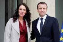 New Zealand's Jacinda Ardern and France's Emmanuel Macron Join Hands to Fight Online Extremism