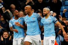 Premier League: Kompany Stunner vs Leicester Keeps Manchester City on Course for Title