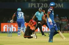 IPL 2019 | Mishra Given Out Obstructing The Field