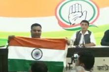 Man Creates Flutter at Congress Presser Over Yogi Adityanath's Real Name