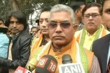 Bengal BJP President Dilip Ghosh Asks Mamata to Name CBI Officers Who 'Threatened' TMC Leaders