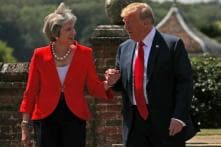 Theresa May to Call on Donald Trump During His UK Visit in Attempt to Deepen Ties With US