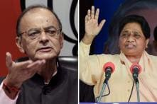 Jaitley Calls Mayawati Unfit for Public Life After BSP Chief Makes Personal Remarks on PM's Wife