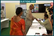Elections 2019, 6th Phase: President Ram Nath Kovind Casts Vote