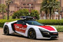 Rare Lykan Hypersport worth Rs 18 Crore to be Used by Abu Dhabi Police Force for Chasing Criminals