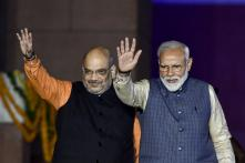 'Mahanayak' of BJP's Victory: Amit Shah Lauds PM Modi After BJP's Grand Show in Lok Sabha Polls