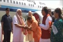 Three Day Before Oath, PM Modi Visits Varanasi For Thank Voters