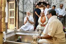 Pictures From PM Narendra Modi's Thanksgiving Visit in Varanasi