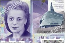 Canadian $10 Note Featuring Civil Rights Activist Viola Desmond Named World's Best