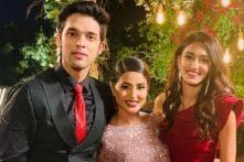 Kasautii Zindagii Kay: Hina Khan Gets a Mini Farewell from Erica Fernandes, Parth Samthaan