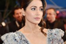 Hina Khan Makes Glamorous Splash at Her First Cannes Red Carpet Appearance