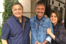 After Shah Rukh Khan and Karan Johar, Rajkumar Hirani Stops by to Meet Rishi Kapoor in New York