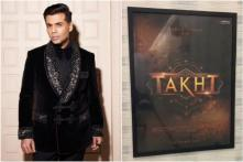 Karan Johar Teases Takht Poster and Release Date in a Behind-the-scenes Video, See Here