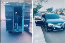TikTok User Shares Video of Him Emerging from Police Van in Nagpur, Raises Eyebrows