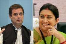 Smriti Irani Tweets Inspirational Poem After Rahul Gandhi Concedes Defeat in Amethi