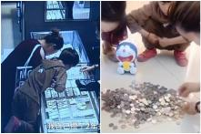 9-year-old Boy Smashes Piggy Bank in Jewellery Store to Buy His Mum 'Surprise' Gift