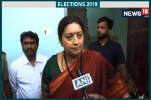 Elections 2019, 5th Phase: People Of Amethi Are Challenging Rahul Gandhi, Says Smriti Irani