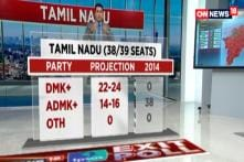 Elections 2019: Dent in AIADMK Seat Share in Tamil Nadu According To News18 IPSOS Exit Poll