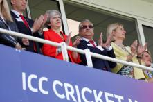 Brexit Burden off the Shoulders, Theresa May Joins Cheering Cricket Fans at Oval