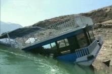 Floating Restaurant, Not In Use For Months, Partially Submerges in Uttarakhand's Tehri Lake