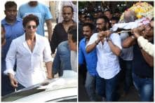 Shah Rukh Khan, Sunny Deol Arrive at Ajay Devgn's House to Pay Last Respects to Veeru Devgan