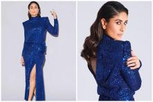 Kareena Kapoor Slays Like a Style Diva in Shimmery Blue Gown