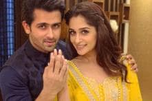 Bigg Boss 12's Dipika Kakar Stuns in Yellow Suit During Eid celebrations