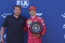 Austrian GP: Ferrari's Charles Leclerc Grabs Pole Position, Focussed on 'Finishing the Job'
