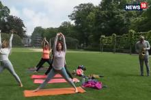 International Yoga Day | People In Belgium Hit The Yoga Mat To Fight Stress, Find Calmness