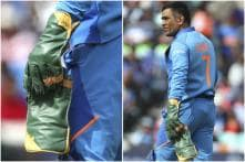 MS Dhoni Abides by ICC's Regulation, Removes 'Balidaan Badge' From Gloves