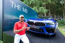 Indian Golfer Gaganjeet Bhullar Drives Home a BMW M8 Competition Coupe at the BMW International Open