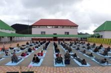 Indian & Chinese Army Jointly Celebrate International Yoga Day
