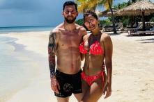 Viral Vacay Pictures of Barcelona Star Lionel Messi & His Family