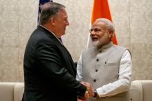 PICS: US Secretary of State Mike Pompeo Meets PM Narendra Modi