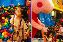 Shahid Kapoor's Daughter Misha is Having a Lovely Time with Her Favourite Cartoon Characters