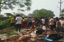 Four Killed, Ten Injured as Wall Collapses Near a Market in Odisha's Dhenkanal District