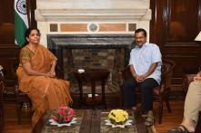 Kejriwal Meets FM Nirmala Sitharaman, Demands Hike in Delhi's Share in Central Taxes