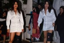 The Sky is Pink Wrap-Up Party: Injured Priyanka Parties Hard