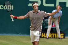 Halle Open: Roger Federer Stretched Again as He Battles Past Roberto Bautista Agut Into Semis