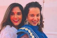 Kangana Ranaut, Richa Chadha Celebrate Eid on the Sets of Ashwiny Iyer Tiwari's Pangaa