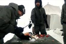 Juice on Gas, Hammer for Eggs and Veggies: Soldiers Show Off Tricks in Frozen Hell Called Siachen
