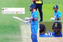 Internet Cannot Get Over Kohli's 'Priceless' Reaction to Dhoni's Whistling Six Against Australia