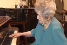108-Year-Old Woman Who Broke Her Hands at 80 Still Plays Piano Like a Pro